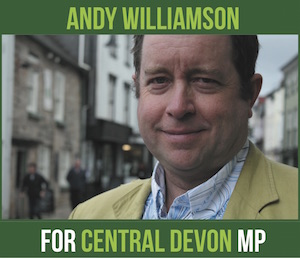 Andy Williamson for Central Devon MP